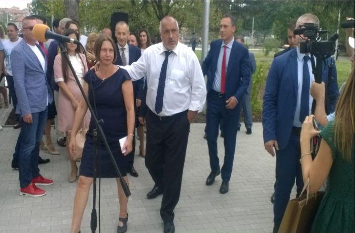 Бойко Борисов в Бургас