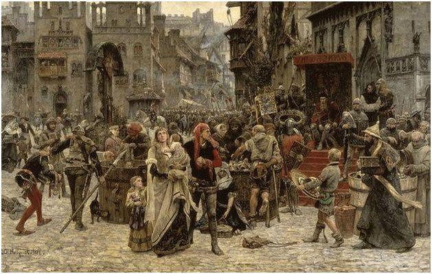Средновековието на Европа не се славело с добра хигиена