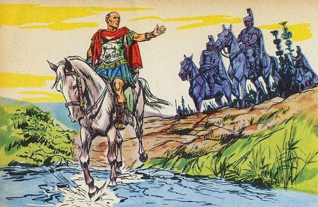 Цезар преминава Рубикон