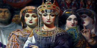 Императрица Теодора и свитата й