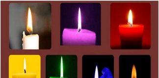 Изберете цвета на свещта