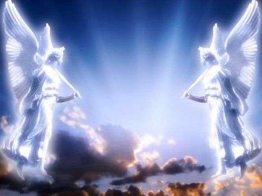 Ангелите са същества от светлина