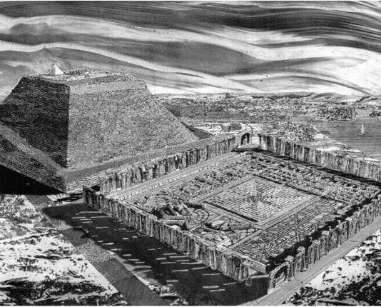 Египетският лабиринт - най-древният