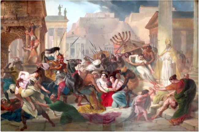 Вандали разграбват Рим
