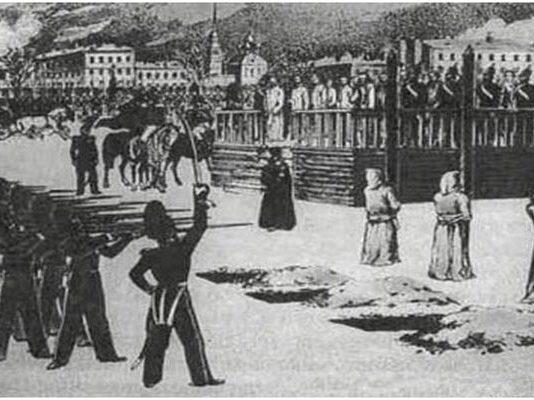 Фалшивата екзекуция на Достоевски