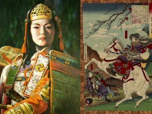 Томое Гозен - жената-самурай