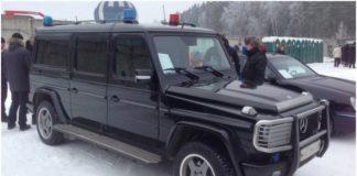 "Охраната на Путин се вози в ""Луноход""."