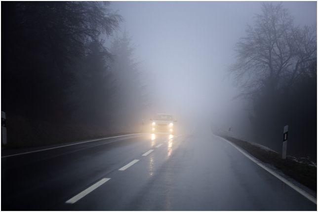 Мъглата изисква специални светлини