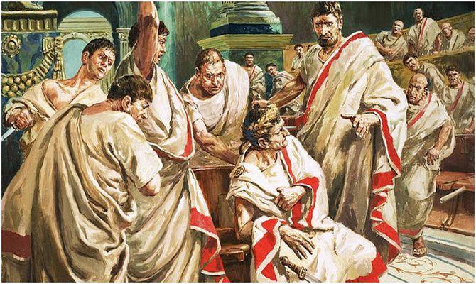 Убийството на Цезар на мартенските иди