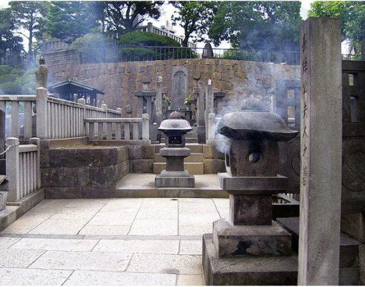 Гробът на 47-те самураи