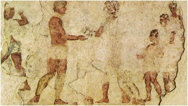 Римляните владеели меча, но и