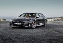 Такова Audi летя с 325 км/ч