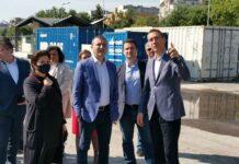 Финансовият министър Владислав Горанов също остана впечатлен от мащабите на залата