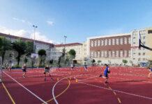"""Тренировка на баскетболния """"Черноморец 2014"""""""