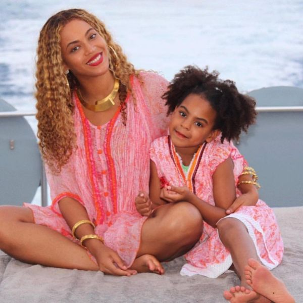 Бионсе и дъщеря й Блу
