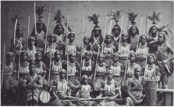 Дахомейските амазонки - най-зловещите жени