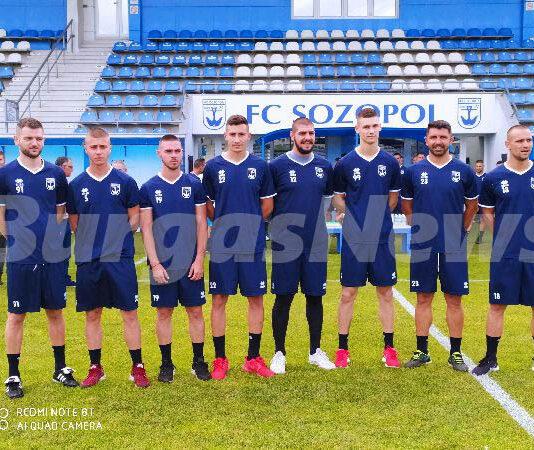 Новите попълнения на ФК Созопол