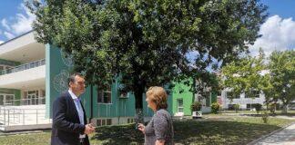 Детската градина в квартал Сарафово разполага с 4 градински групи или общо 112 деца