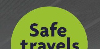 Печат Safe Travels stamp