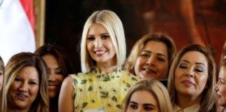 Иванка Тръмп по време на събитие на Академията за жени предприемачи