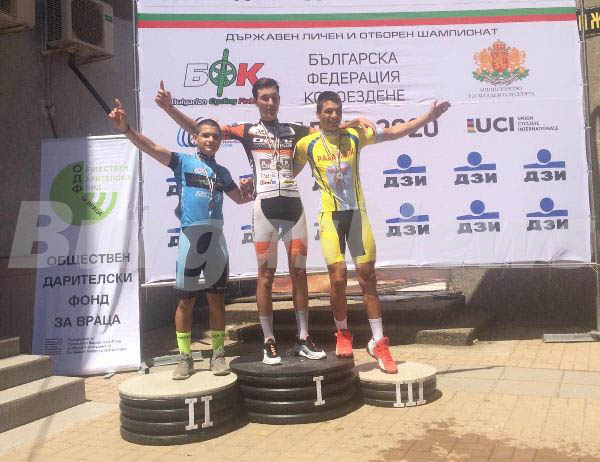 Бургаският колоездач Веселин Георгиев със сребърен медал