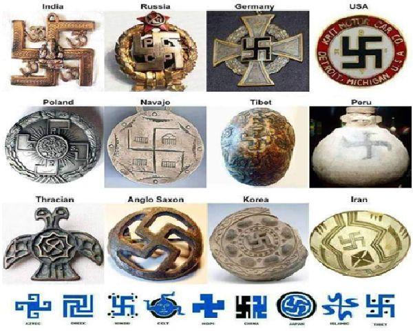 Свастиката е символ на късмет и просперитет
