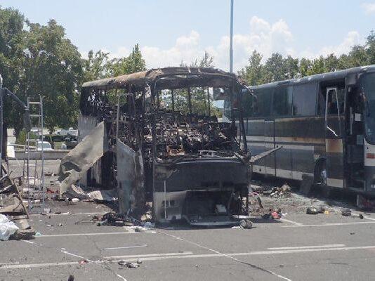 Атентатът на летище Бургас стана на 18.07. 2012 год.