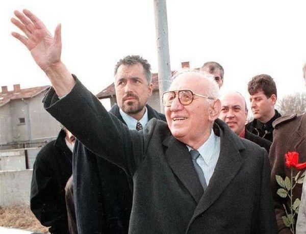 Борисов като охрана на Тодор Живков