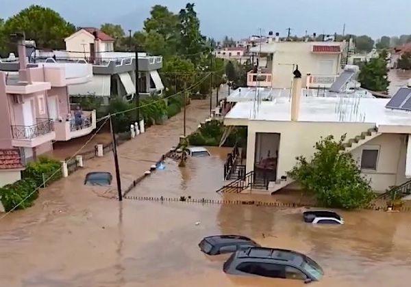 Наводнение в Евбея