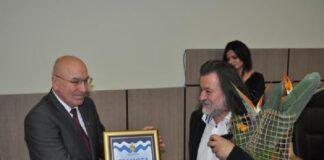Красимир Зинин при удостояването му за почетен гражданин