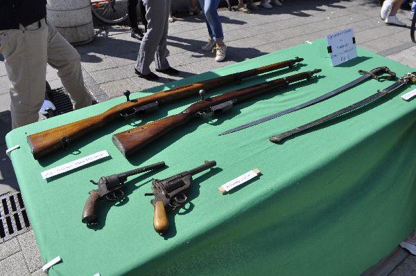 Изложба на оръжия за 22.09. в Бургас
