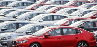Спад в продажбата на автомобили