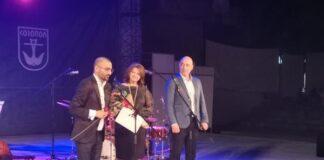Известният пианист Живко Петров получи наградата Аполон Токсофорос