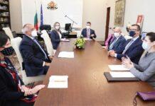 На срещата с Борисов присъства и Херо Мустафа