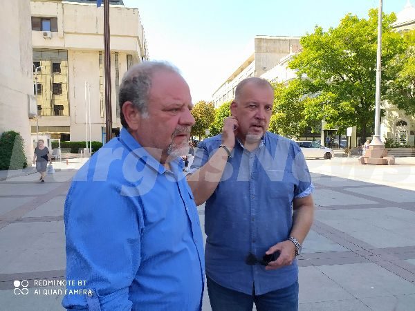 Йордан Георгиев и Иво Баев