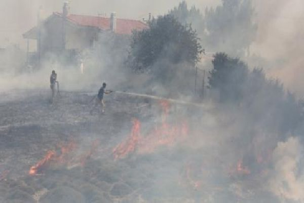 Пожар в с. Граничар