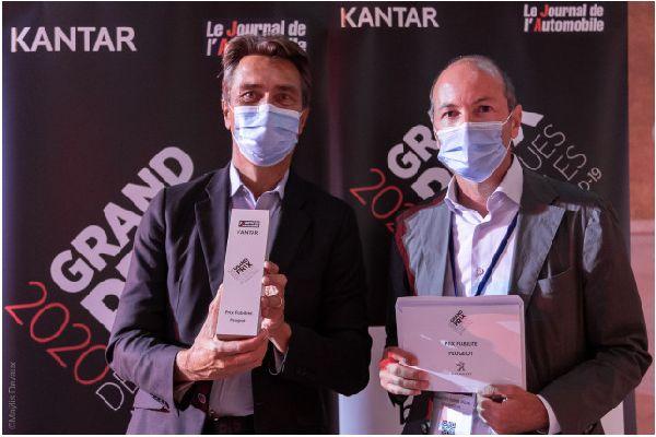 Peugeot печели наградата за надеждност