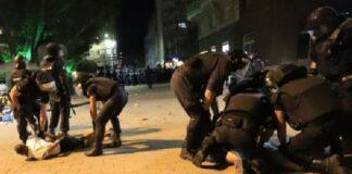 Арести на протеста в София