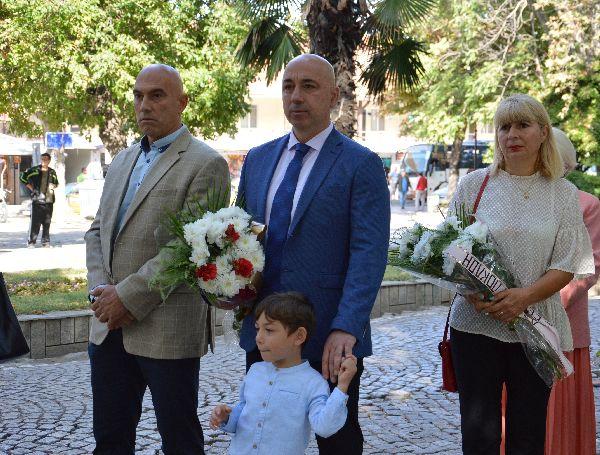 Кметът Янакиев и депутатът Тишев
