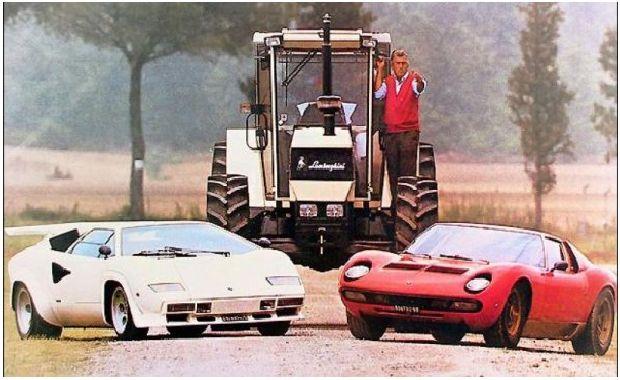 Lambo - от трактори до суперколи
