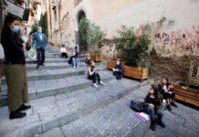 Началната учителка Памела Буда е решила да премести класната стая на улицата