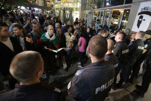 Протест пред БНТ