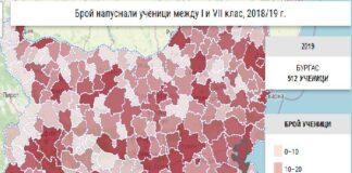 В Община Бургас училище са напуснали 512 ученици