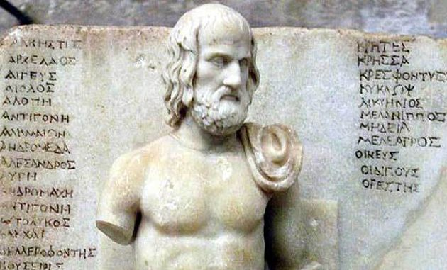Еврипид е новатор в античната трагедия
