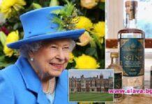Кралицата със собствена марка джин