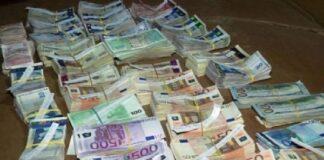 Недекларирана валута на М. Търново
