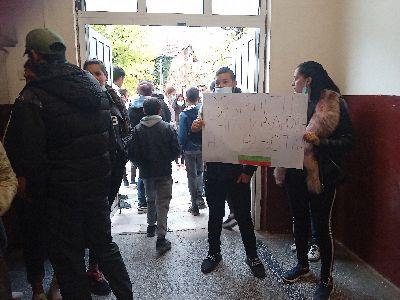 Протест село Росен