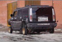 Hummer с джанти от Lada