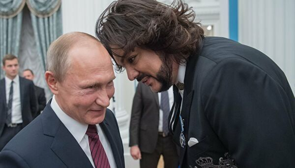 Филип Киркоров и Путин