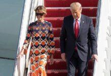 Мелания и Доналд Тръмп